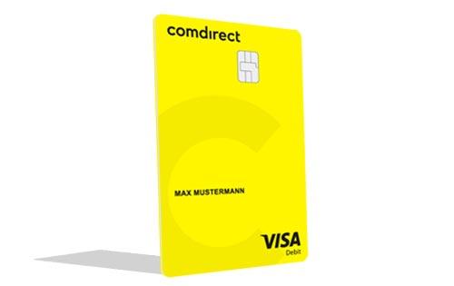 comdirect Visa-Debitkarte