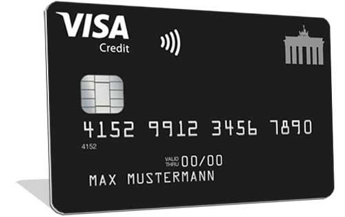 Visa Deutschland-Kreditkarte Classic