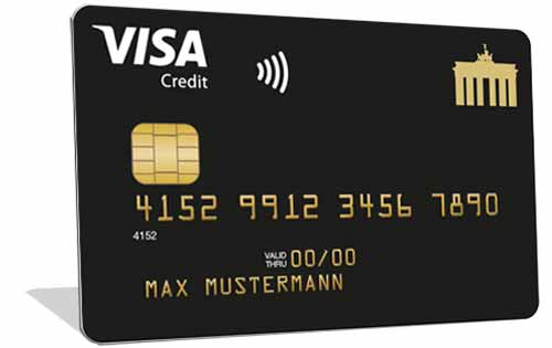 Visa Deutschland-Kreditkarte Gold