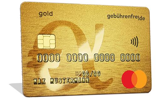 Gebührenfrei Mastercard® Gold
