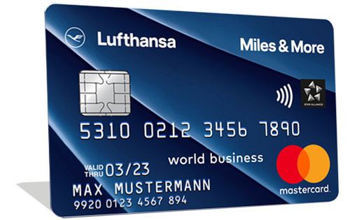 Miles & More Blue Credit Card Business