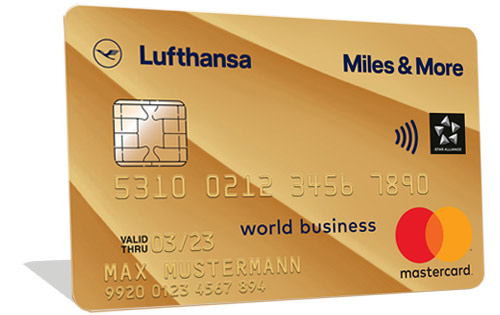 Miles & More Gold Credit Card Business